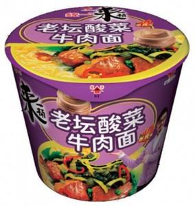 統一老壇酸菜牛肉麺